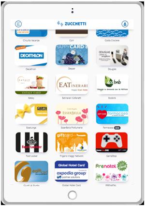 Zucchetti Card - Catalogo